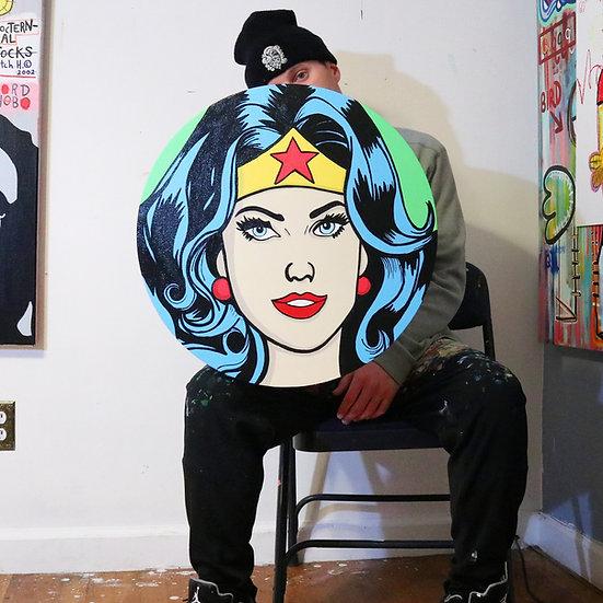 Wonder Woman face