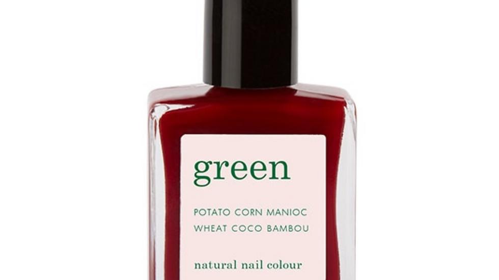 Vernis Green Dark Pansy