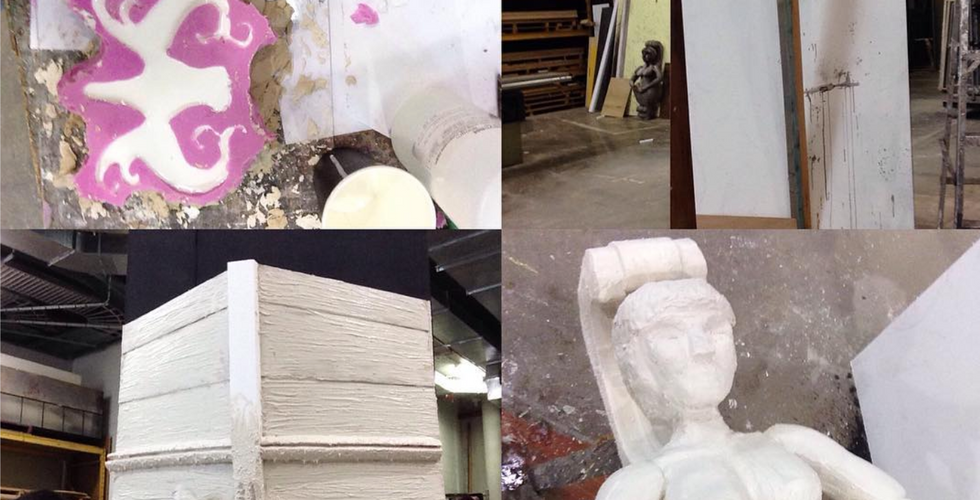 Moulds, textures and sculpting
