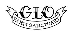 GLO Farm Sanctuary rectangle logo