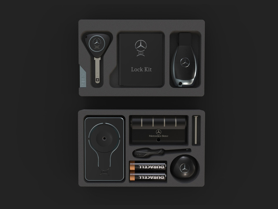Mercedes&Benz Dual Lock Kit