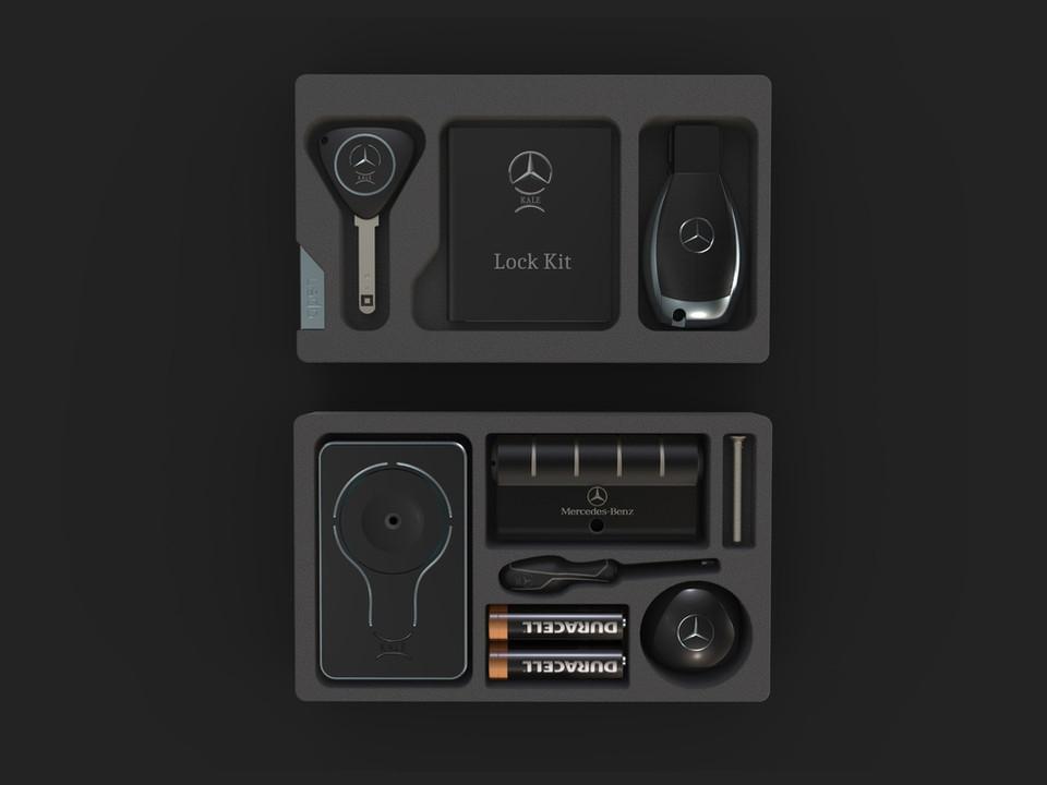 Mercedes&Benz Dual Lock Kit