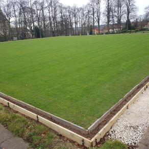 Bowling green improvements
