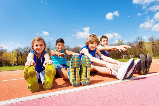 The benefits reaped by children who get plenty of exercise early in life.