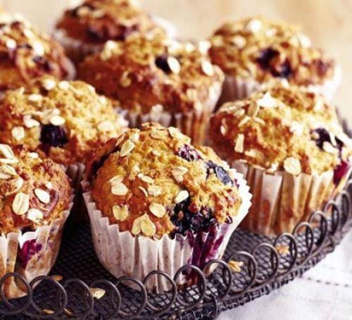 Banana & Blueberries Muffins