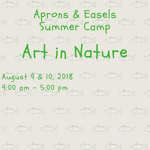 Art in Nature Camp
