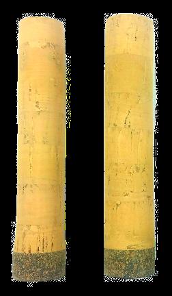 "5"" Ice Rod Cork Handle"