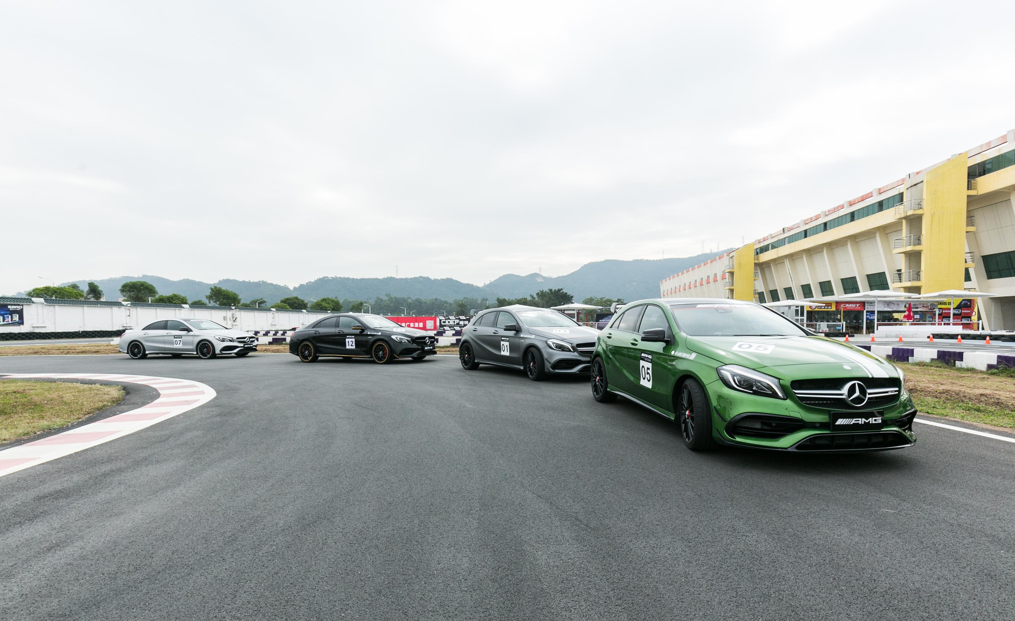 Mercedes Benz AMG Test Drive3