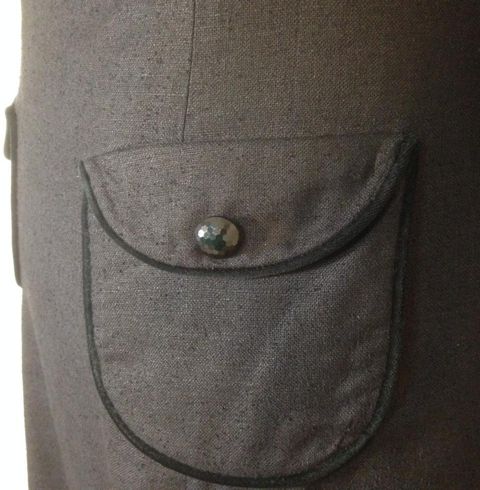 60'S BOAT NECK - POCKET CLOSE UP