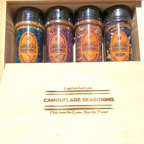 Set of 4 Seasonings Gift Box