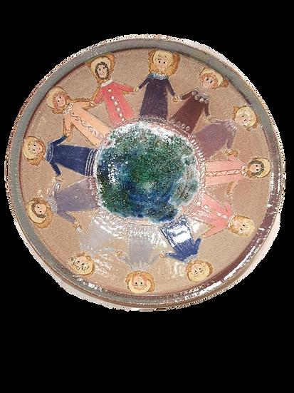PIATTO DECORATIVO 12 APOSTOLI