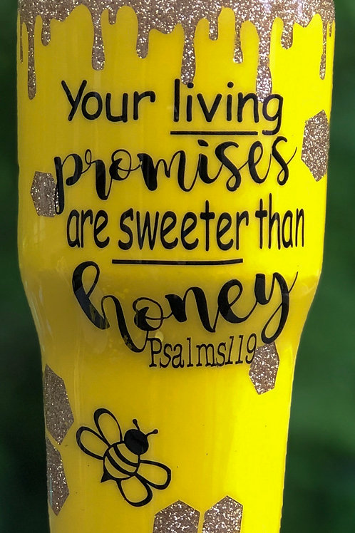 Honey Bee Tumbler