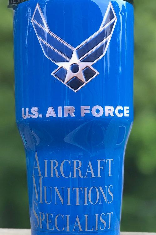 Air Force Tumbler