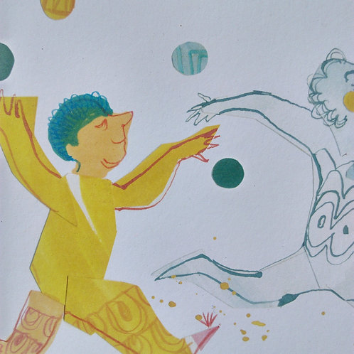 Jugglers limited edition A5 print