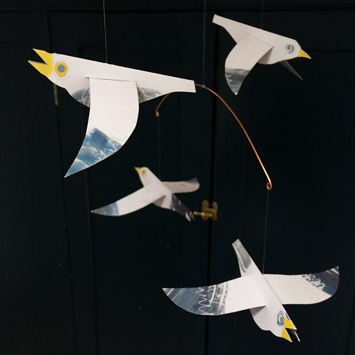 Seagulls mobile