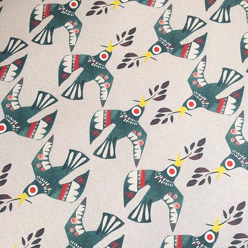 Birds gift wrap