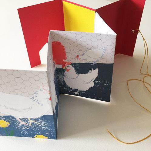 Little Hens artist's book