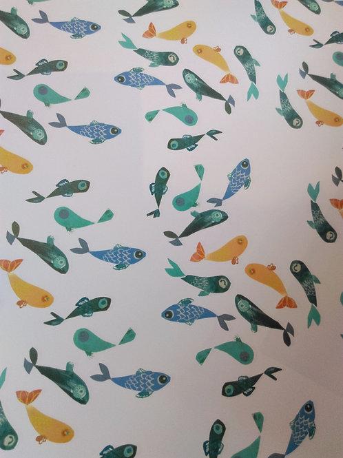 Fish gift wrap