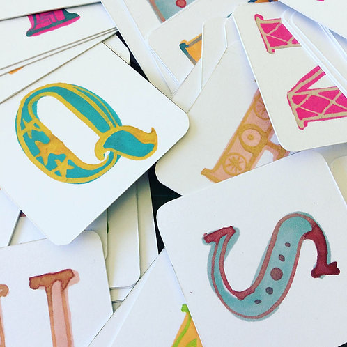 Extra bunting letters