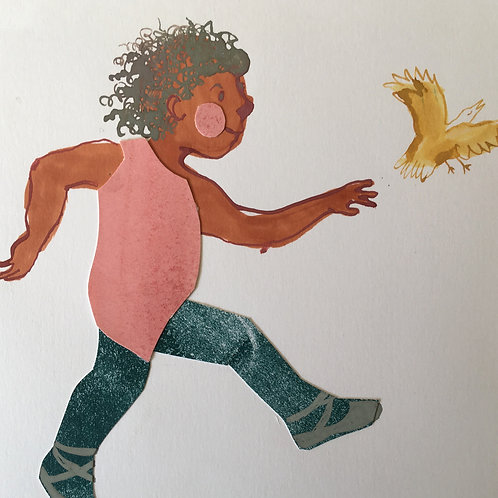 'Little Dancer' original artwork