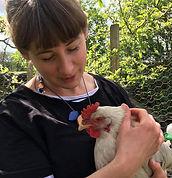 Esther Kent & hen small.jpg
