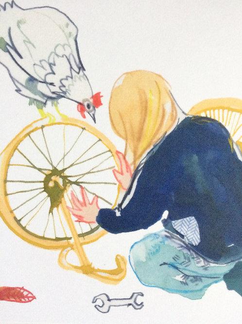 Fixing the Bike card