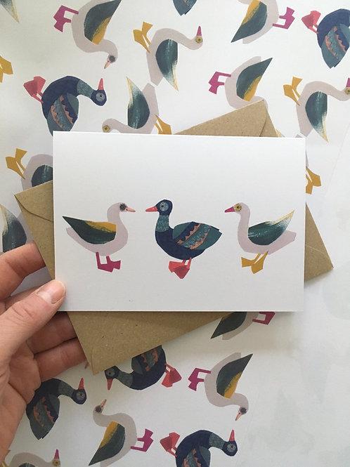 Goose Goose Gander card