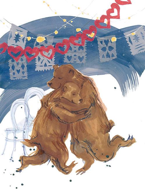 Dancing Bears card
