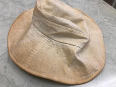 黄ばみ 汚れ取り  帽子クリーニング