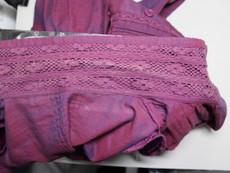 綿・麻素材の婦人上着『色抜け』の色修正