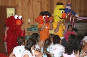 Elmo time
