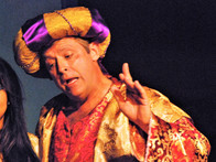 """The Sultan"" in the original musical, Aladdin"
