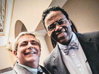 Allen with actor Richard Lawson