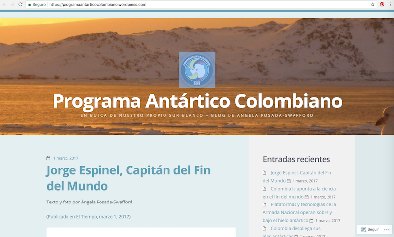 Programa Antártico Colombiano