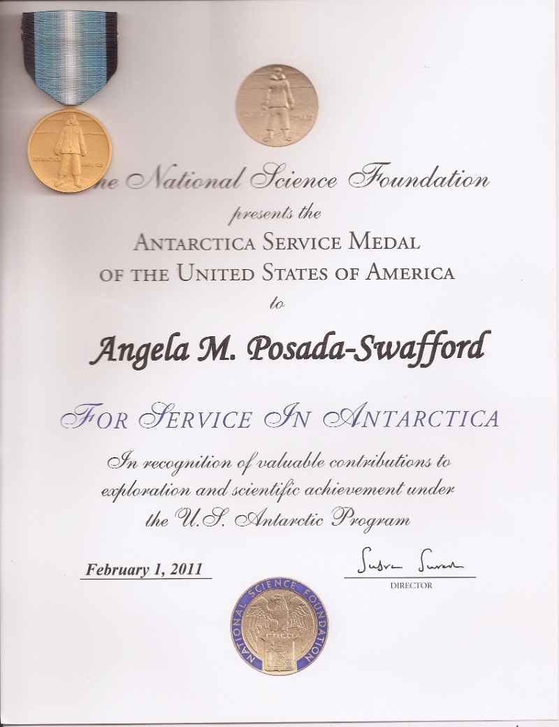 Medalla Antarctica