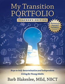 My Transition Portfolio Teacher's Edition eBook