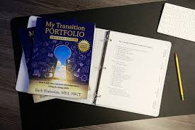 My Transition Portfolio with lessons to support students in creating positive post-school outcomes.