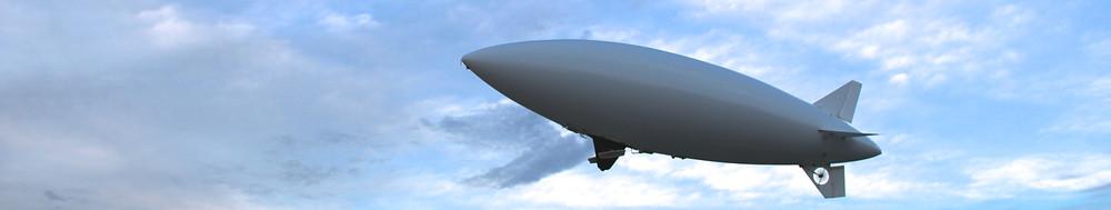 eBlimp 1000W Blimp Airship