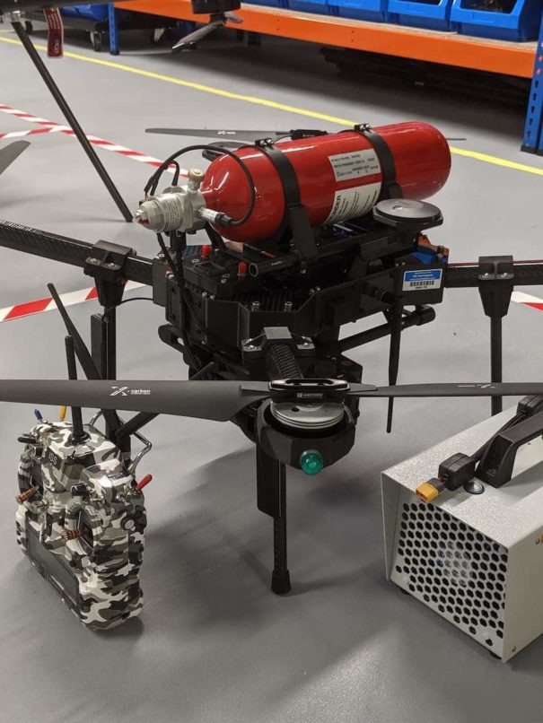 Hydrogen Fuel Cell Drone