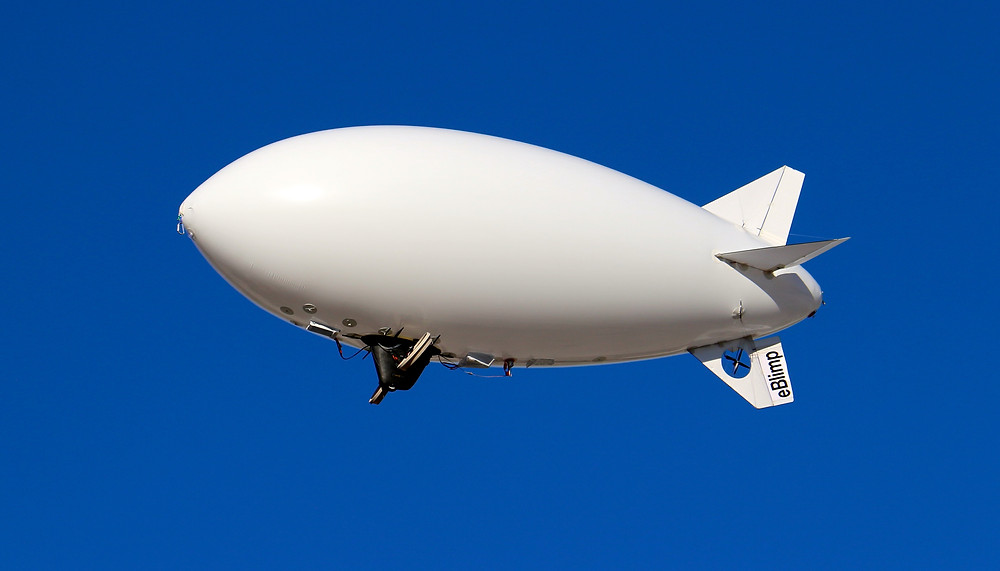 eBlimp 300W Blimp Airship
