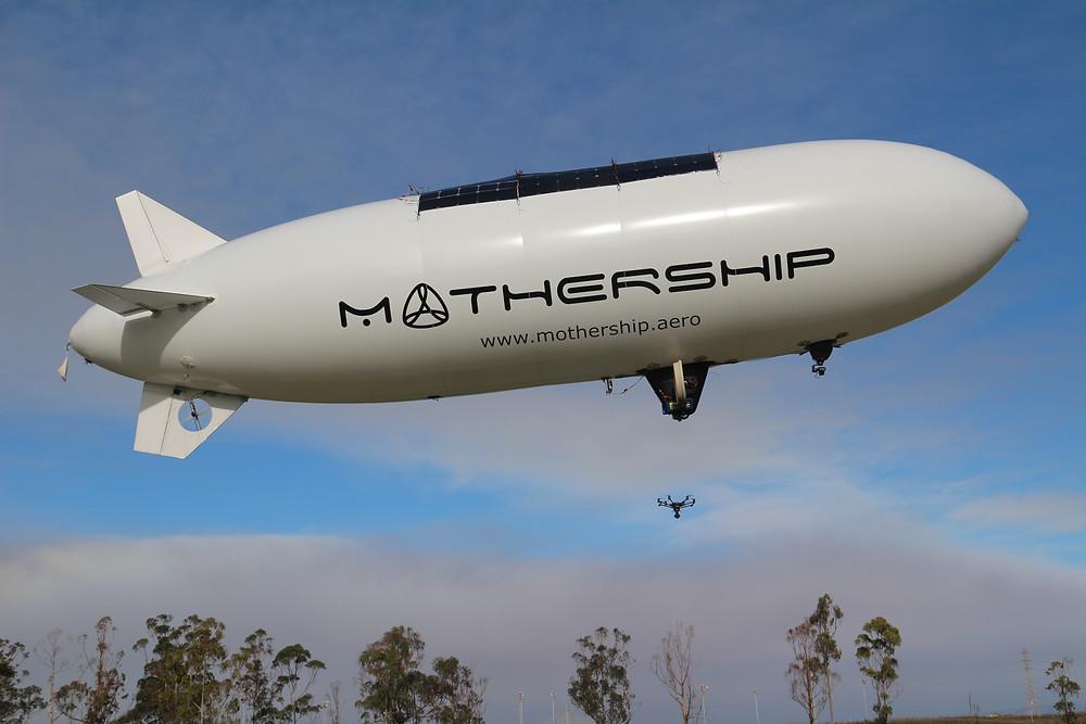 Solar Blimp - Mothership Aeronautics Scout 700