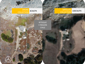 Considerations of using Aerial Data VS Satellite Data