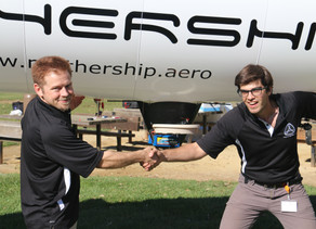 eBlimp.com and Mothership Aeronautics Partner up to go Vertical in Blimps