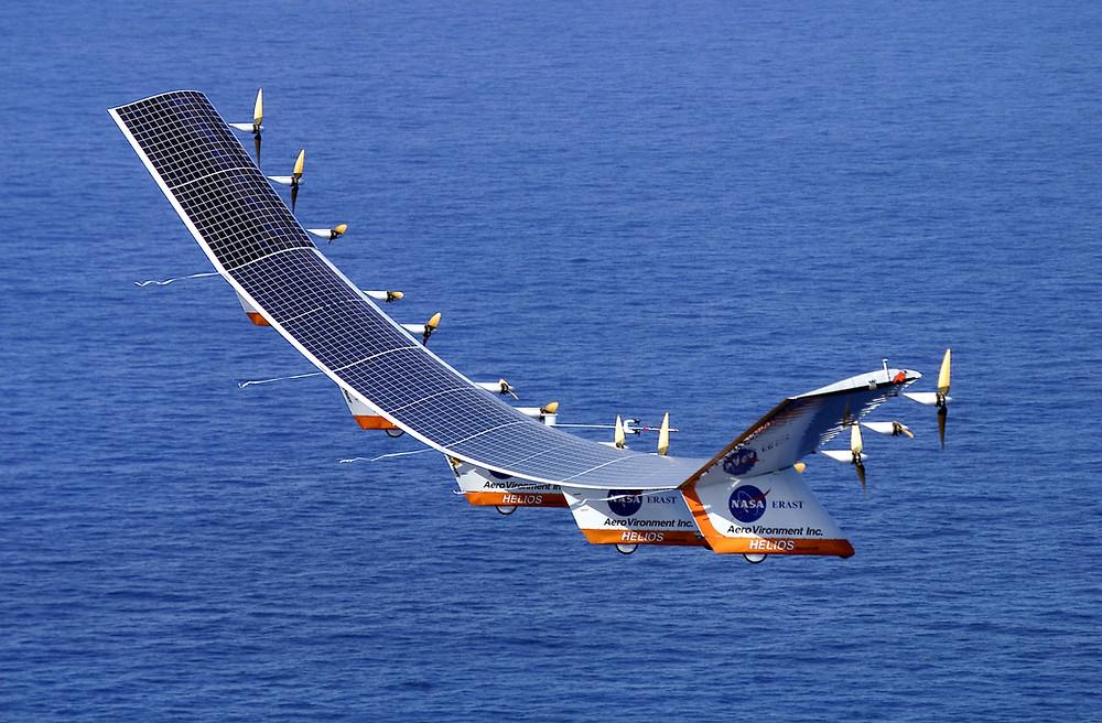 Helios Solar Airplane Prototype