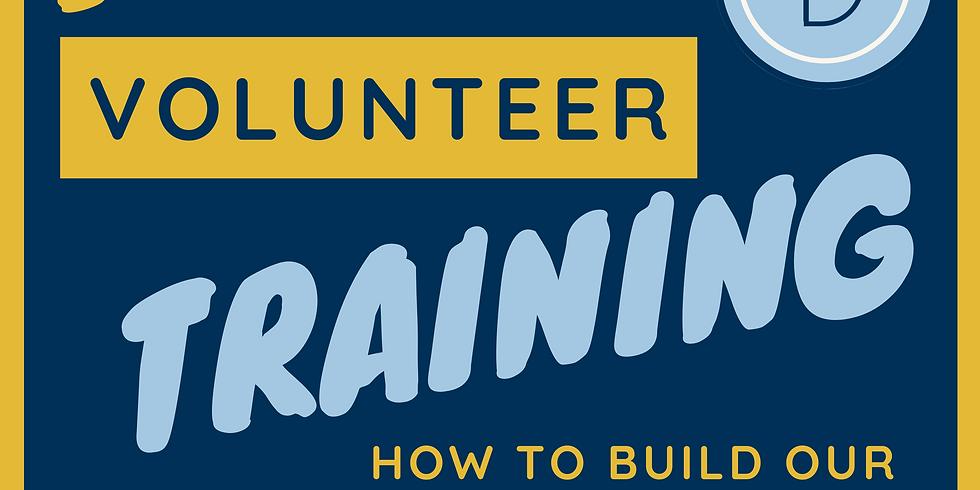 Saturday Volunteer Meetings