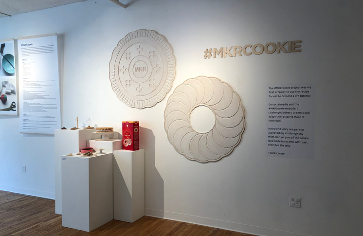 #MKRCookie recipe, images and project examples