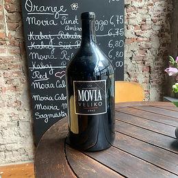 Bottle of Movia Veliko