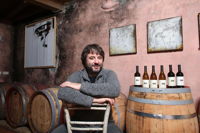 Klinec wine cellar