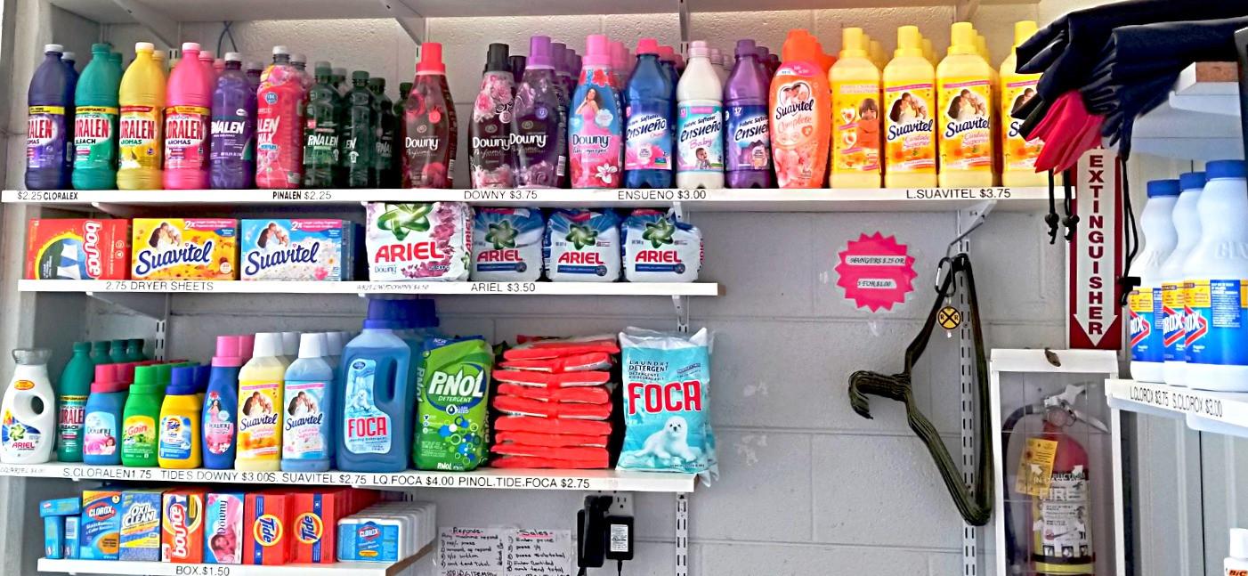 Wash'em Up #1 Supplies