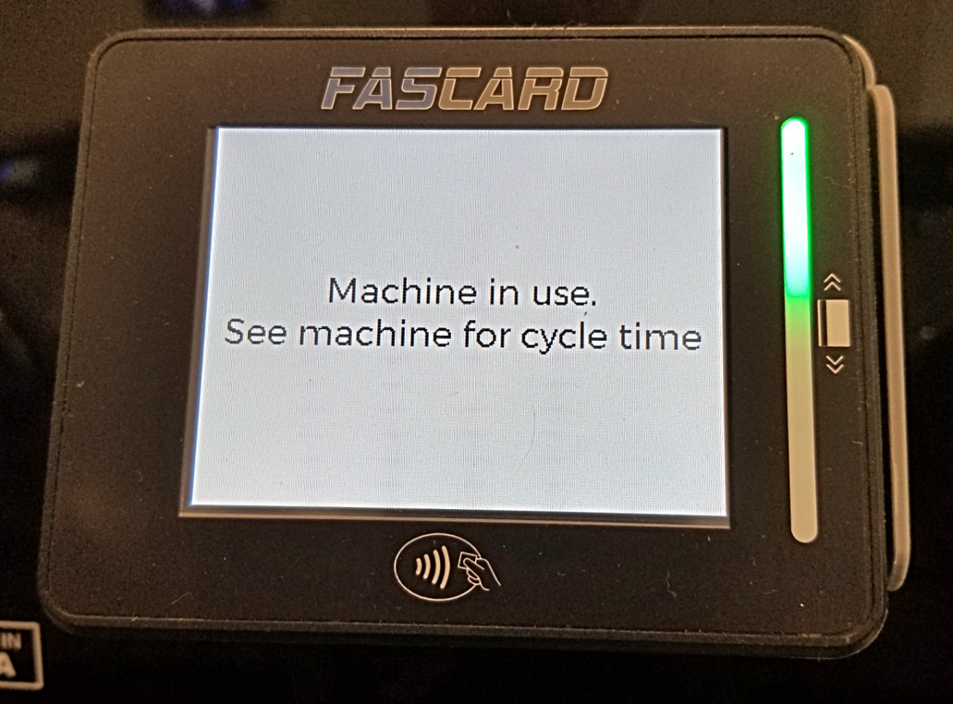 FasCard Laundry Card System